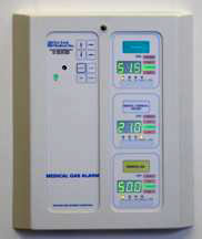 medical gas area alarms for hospitals